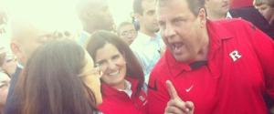 Chris Christie Shows Appreciation to a Teacher